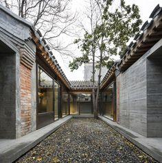 ZAO/standardarchitecture, Wang Ziling · Baitasi co-living courtyard