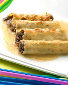 Canelones de carrilleras de ternera (de Karlos Arguiñano) receta