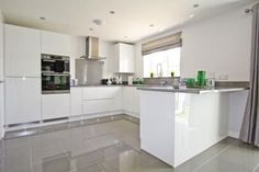 Image result for taylor wimpey grey gloss cabinets