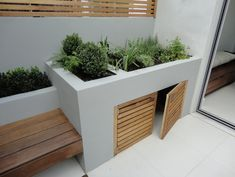 Leading garden design and landscaping company based in Fulham. Turning visions of outdoor living into reality. Small Backyard Gardens, Backyard Patio Designs, Garden Spaces, Back Gardens, Small Gardens, Backyard Landscaping, Minimalist Garden, Home Garden Design, Garden Seating