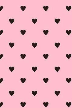 Little black hearts