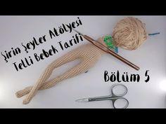 Telli Bebek Yapılışı - YouTube Crochet Amigurumi, Amigurumi Doll, Amigurumi Patterns, Crochet Dolls, Doll Patterns, Crochet Patterns, Double Crochet, Single Crochet, Handmade Soft Toys