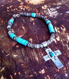 Sacred Turquoise Necklace / Sigrid Anne Design by SigridAnneDesign, $68.00
