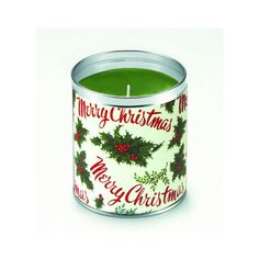 Aunt Sadie's Merry Christmas Gift Wrap Candle ($18) ❤ liked on Polyvore featuring home and home decor