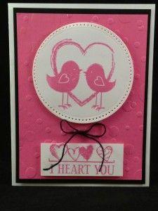 dianesadler.com Valentine Card using Fun Stampers Journey products funstampersjourney.com/dianesadler