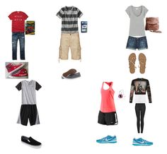 """""""9/1/15"""" by collh ❤ liked on Polyvore featuring AG Adriano Goldschmied, MiH Jeans, Billabong, See by Chloé, Urban Pipeline, Vans, Converse, Hollister Co., Circo and C9 by Champion"""