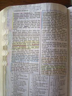 Color Coded Scriptures