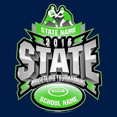 60344294 Wrestling State Tournament Apparel : Ready as early as same day. Order  state tournament apparel and have order in hands in a few days.
