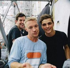 Dillon Francis, Diplo, and Martin Garrix