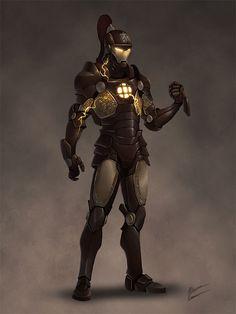 Iron Gentleman by b-cesar on deviantART