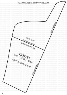 BONECA NAMORADEIRA DE PANO - 02/07/2014 - Artesanato
