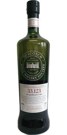 Membership in the Scotch Malt Whisky Society
