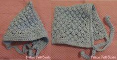 Fulana Fulô Croche: Touquinha em trico com forma de capuz