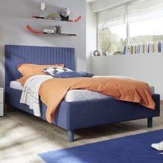 Cikkszám: 624603-59 90x200cm-es ágy, függőleges díszvarrással. Rendkívül dekoratív és stílusos!