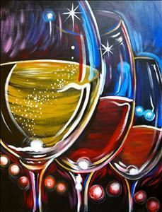 Featured image of post Easy Beginner Easy Wine Paintings Just a few easy stitches and finished in an hour