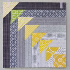 ~ This fun quilt-as-you-go block uses foundation piecing to create flying geese. Give it a try!