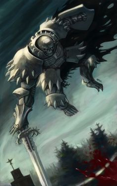 the skull knight by ~thevampiredio