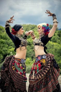 American Tribal Style (ATS) belly dance by Colibris Photography