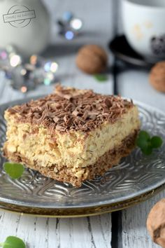 Lemon Cheesecake Recipes, Chocolate Cheesecake Recipes, Happy Foods, Polish Recipes, Dessert Recipes, Desserts, Christmas Baking, Food Photography, Easy Meals
