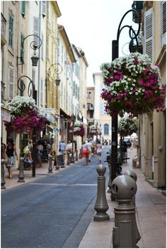 Streets of Antibes, Provence, France