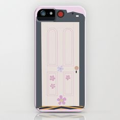 boo's door iPhone & iPod Case by studiomarshallarts - $35.00