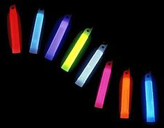glow sticks-write names on them & give as favors