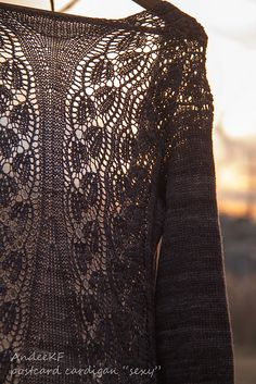 Ravelry: Postcard Cardigan pattern by Andee Fagan