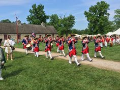 The British on Parade at the Annual Rendezvous at Fort de Chartres. Photo courtesy of Christopher Martin. Randolph County, Dolores Park, British, Photography, Photograph, Fotografie, Photoshoot, Fotografia