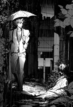 Rain - Manga Scans Page 1 Free and No Registration required for Canis Dear Mr. Manga Art, Manga Anime, Anime Art, Bloodborne Art, Boy Illustration, Animation Background, Anime Japan, Marvel, Realistic Drawings