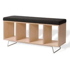 Found it at AllModern - Birch Wooden Storage Bench