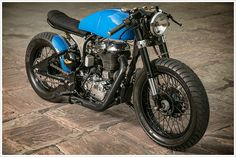 Royal Enfield Café Racer by RajputanaCustoms - Pipeburn - Purveyors of Classic Motorcycles, Cafe Racers & Custom motorbikes
