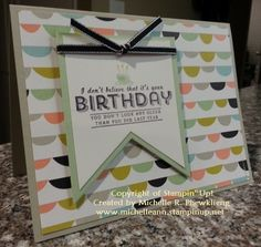 I Don't Believe It's Your Birthday... by 4Ever Stamping - Cards and Paper Crafts at Splitcoaststampers