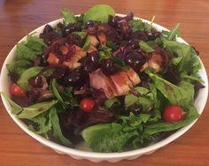 Duck & cherry salad #vivarecipes