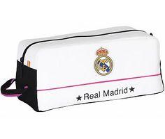 Real Madrid Toilettas / Schoenentas wit