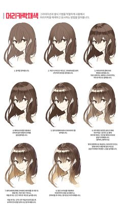 manga tutorial + Illustrations + manga to read Manga Tutorial, Drawing Hair Tutorial, Digital Painting Tutorials, Digital Art Tutorial, Art Tutorials, Concept Art Tutorial, Drawing Reference Poses, Drawing Skills, Drawing Techniques