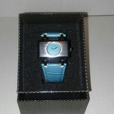 Special Black Fri. price til Dec 1 New!! Classic in feel but but contemporary in function.  A beautiful ion plated case w/stainless steel !   Bright and vivid colors throughout the design  A leather strap so soft and comfortable.  An ion plated stainless steel buckle.  It's back is pressure sealed.  This watch is water resistant up to 3ATM for Superior Use Underwater.  Japanese Quartz Mvmt.    The revolutionary Eberle Watch Co. originated in Switzerland.  Maurice Eberly was granted a…