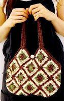 Tina's handicraft : granny square motif 4 bags