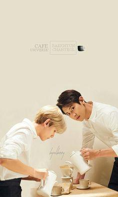 [EDIT] #EXO #WINTER #Cafe_Universe #CHANYEOL #BAEKHYUN