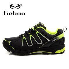 TIEBAO Professional Men Women Bicycle Shoes MTB Road Bike Cycling Shoes Leisure Self-locking Sport Shoes zapatillas clismo