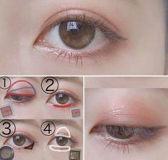 Love the natural brown-ish eyeliner! :)- Love the natural brown-ish eyeliner! 🙂 Love the natural brown-ish eyeliner! Korean Makeup Look, Korean Makeup Tips, Korean Makeup Tutorials, Asian Makeup, Korean Makeup Ulzzang, Ulzzang Makeup Tutorial, Makeup Trends, Cute Makeup, Beauty Makeup