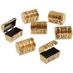 Dozen Mini Pirate Gold Treasure Chests Review