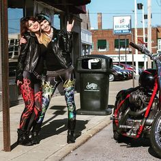 WEBSTA @ speedclothes - Nunslaughter   Toxic Holocaust leggings love each other forever  which one its your favorite?? TH is back in stock!! Go to speed-clothes.com now!! #speedclothes #biker #rocker #metalhead #metalgirls #metalleggings