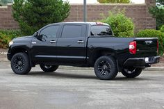 2014 tundra black on black | 2014 Tundra Platinum | Flickr - Photo Sharing!