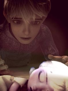 Jack  Frost sad. Jack Frost worried. Jack Frost kid. Jelsa kids . Jelsa family.