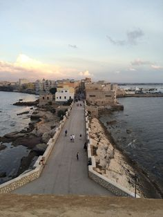 View from the Tower of Ligny, Trapani, Sicily