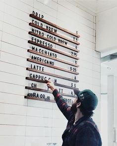 New Design Menu Coffee Shop Ideas New Design Menu Coffee Shop IdeasYou can find Coffee shop design and more on our website.New Design Menu Coffee Shop Ideas New Design Menu Coffee Shop Coffee Shop Menu, Small Coffee Shop, Coffee Shops, Coffee Coffee, Coffee Shop Signage, Bunn Coffee, Coffee Enema, Black Coffee, Cafe Bar