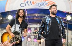 """Dan and Shay's """"All To Myself"""" has allowed the duo to top the Mediabase / Billboard Country Airplay charts for the sixth time in their career! Top Country Songs, Country Music News, Country Music Singers, Dan & Shay, Matchbox Twenty, Beautiful Men Faces, Great Beards, Blake Shelton, Funny Tattoos"""