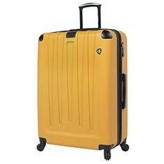 Mia Toro Vistos Yellow Luggage Italian Design Expandable Spinners  http://www.alltravelbag.com/mia-toro-vistos-yellow-luggage-italian-design-expandable-spinners/
