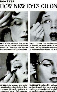 How do you do your eye make up?   #LindyBop #Makeup #style #vintage