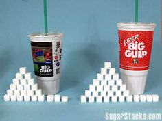 I love soda but hate this! You can check how much sugar many food/drinks have on this site